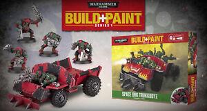 Warhammer 40K Space Ork Trukkboyz Build & Paint Model Kit Revell