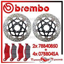 Dischi Freno Anteriore BREMBO + Pastiglie SINTER SA DUCATI MONSTER S2 R 803 2005