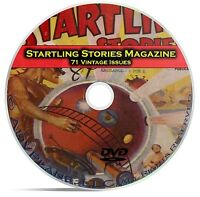 Startling Stories, 71 Classic Pulp Magazine, Golden Age Science Fiction DVD C64