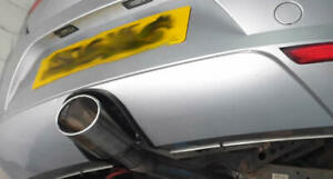 """6"""" x 4"""" Large Oval Exhaust Tailpipe Tip Trim Seat Leon Cupra FR Audi RS4 RS7 RS6"""
