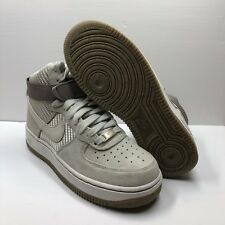 official photos 7a36f 4fa2d Nike Air Force 1 High Size 7 Grey White Platinum Suede New No Box Minimal  Scuffs