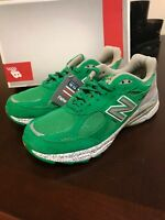 New Balance W990BA3 990 shoes size Women's 6 Made in the USA Boston Green suede