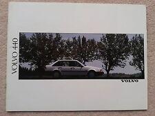 Volvo 440 Brochure 1990 - GL GLE GLT Turbo New Pristine Condition