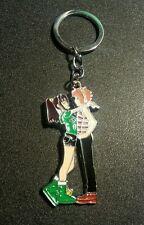 Punk Rock Love Kiss Cute BFF Anime Cartoon Keychain Charm Pendant Gift Present