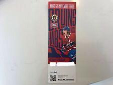 unused season hockey tickets Canadiens featuring Brendan Gallagher nov 26