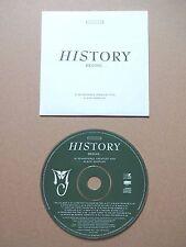 MICHAEL JACKSON - HISTORY BEGINS - MEGA-RARE UK PROMO CD GREEN DISC VERSION/HITS