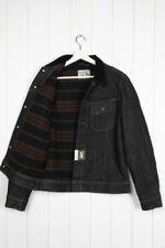 Cappotti e giacche da uomo nere in lana taglia XL