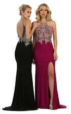NEW SPECIAL OCCASION PAGEANT DRESS SEMI FORMAL SEXY EVENING PROM GOWN RED CARPET