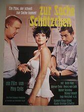 ZUR SACHE SCHÄTZCHEN - Poster Plakat Filmplakat Uschi Glas Werner Enke May Spils