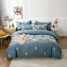 Funda Nordica Bedding Set Luxury Cotton Pillow Cover Sheet Bedsheet Duvet Cover