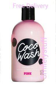 Genuine Victoria's Secret PINK COCO Coconut Oil Shower Gel / Body Wash 355ml