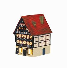 Porcelana Casa De Velas Casita Para Portavelas Vino La Osnarbrueck 18cm 40535