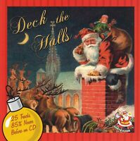 Deck The Halls by Various Artists (CD Santa Records #2008, Like NEW, OOP)