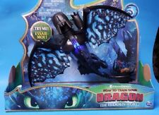 HOW TO TRAIN YOUR DRAGON 3 The Hidden World TOOTHLESS Deluxe Figure BRAND NEW