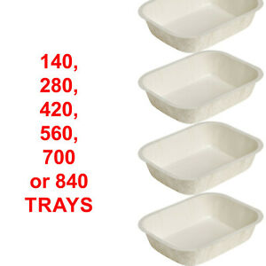 Ovenable Board Tray Food Container Oven Baking Microwave Stackable 166x127x35mm