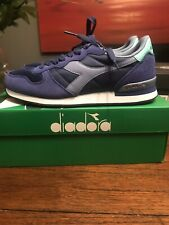 Diadora Camaro UK6, US6.5, Eur39 BNWT Blue/Ice blue