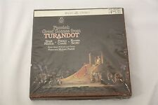 """Sealed Puccini Great Scences from Turandot 7.5"""" REEL TO REEL TAPE"""