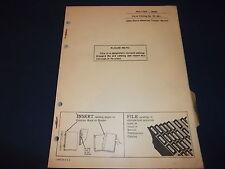 John Deere Jd600 Tractor Parts Manual Book Catalog Pc-861