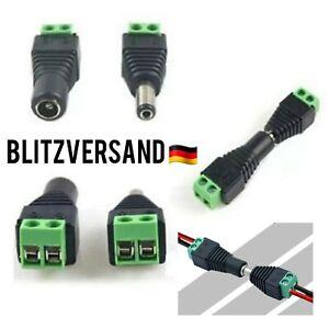 DC Steckverbinder Hohlbuchse Hohlstecker 5,5x2,1mm Adapter Netzteil Kupplung