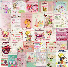 Mum / Mummy / Mother / Stepmum Birthday Cards - Various Designs Available