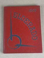 """1958 """"Elderado"""" - Elder High School Yearbook - Cincinnati, Ohio.              A8"""