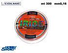 FILO MULINELLO COLMIC IRIDE 300 MT SURFCASTING 0,16 mm col ORANGE