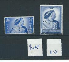 wbc. - GB - GEORGE V1 - G813- 1948 - SILVER WEDDING - SET - FINE USED