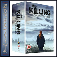 THE KILLING - COMPLETE SERIES - SEASONS 1 2 3 & 4 *BRAND NEW DVD BOXSET ***