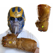 2018 Thanos INFINITY GAUNTLET gant tasse Infinity War The Avengers Cosplay PROP