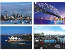 LOTS 12PCS Sydney AU Postcards Harbor Opera House Landscape View Post Card Bulk