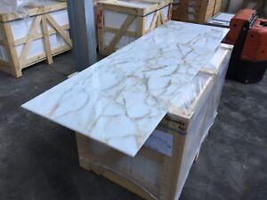 Marble Tiles, Italian Calacatta Gold Select Marble Tiles, Floor / Wall 305x610mm