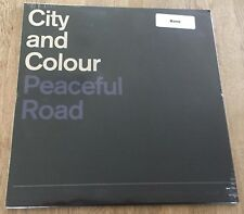 "CITY AND COLOUR - Peaceful Road 12"" LIMITED BONE VINYL 500 only Alexisonfire"