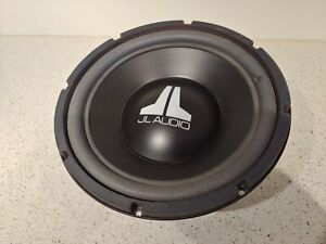 "Old School JL Audio 10W6, dual 6 ohm 10"" Subwoofer Sub from a Stealthbox"