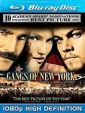 Gangs of New York (Blu-ray Disc, 2008) No Slipcover