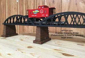 O Gauge Bowstring Arch Bridge 12 Inch – Miniature Train & Railroad Scenery