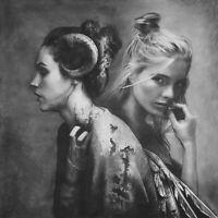 "Painting by Yosvany Arango Mixed M on Canvas Original Cuban Art 56x56 ""Twilight'"