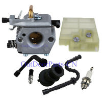 Carburetor Fuel Air Filter Intake Boot Oil Kit Fo STIHL 024 026 MS240 MS260 Carb