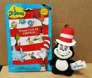 Dr. Seuss Cat in the Hat Series 1 Plush Clip On Surprise Blind Bag