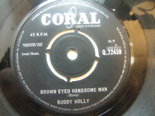 """Buddy Holly – Brown Eyed Handsome Man 1963 7"""" Coral Q 72459"""