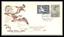 GP GOLDPATH: CARIBBEAN COUNTRY COVER 1956 AIR MAIL FIRST DAY COVER _CV593_P02