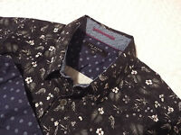 "TED BAKER Mens Shirt 🌍 Size 3 (38"" CHEST) 🌎 RRP £110+ 📮 FANTASTICALLY FLORAL"