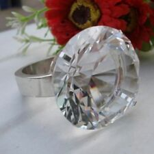 A Single Diamond Look Napkin Ring - XDNRH