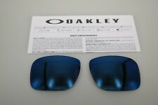 NEW Oakley HOLBROOK ICE IRIDIUM POLARIZED OO9102 Replacement Lens Authentic