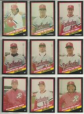 1988 CMC  25-card Team Set Rochester Red Wings  Jose Mesa  Mickey Tettleton