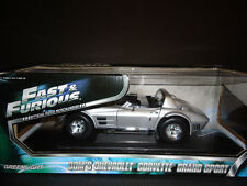Greenlight di Dom Chevrolet Corvette Grand Sport Fast And Furious 5 1/18