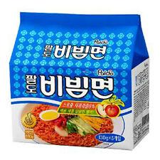 korea Paldo Bibim myun Cold Noodle instant ramen sweet spicy sauce 130g 5 pack!!