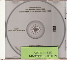 the animals / eric burdon retrospective 1964-1966 1966-1968 cd promo