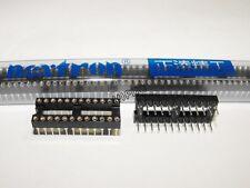 4x NEXTRON ROUND PIN IC SOCKET DIP24 DIP-24