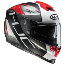 HJC RPHA 70 Vias Red - Full face motorcycle helmet with sun visor-NEW IN
