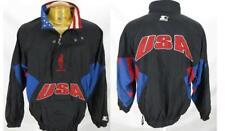 Official Atlanta 1996 USA Olympics Olympic Pullover STARTER Windbreaker Jacket L
